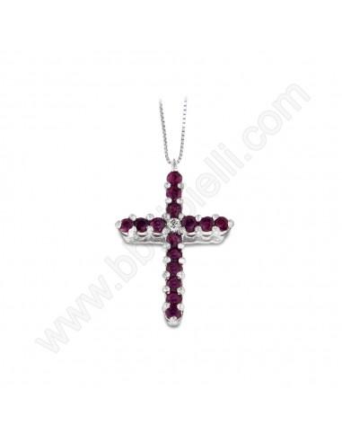 Croce Con Rubini Karal 81