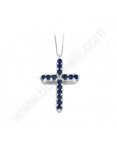 Croce Con Zaffiri 84