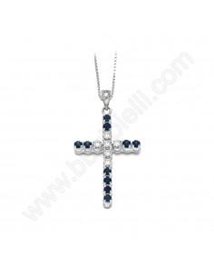 Croce Con Zaffiri 93
